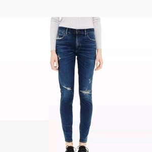 Citizens Rocket High Rise Skinny Jeans in Camas